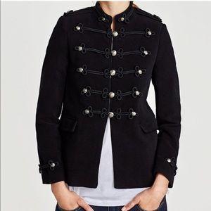 BLOGGERS FAV! ZARA NWT Toggle Military Coat Jacket